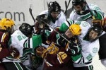 Gophers Fighting Sioux