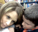 bachmann and the boy