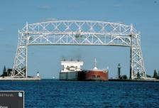 Exports lift bridge