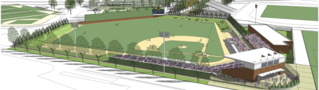 Gophers baseball field