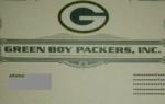 Green Boy  Packers