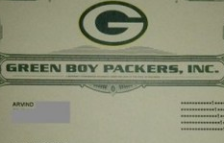 Green Boy  Packers