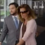 Amy Senser with lawyer