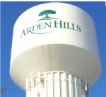 Arden Hills water tower