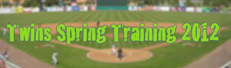 Twins Spring Training 2012