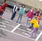 four square playground