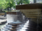 Peavey Plaza fountain