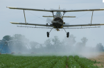 crop duster pesticide