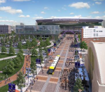 Vikings stadium artist rendering