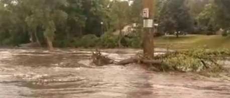 Cannon River flooding