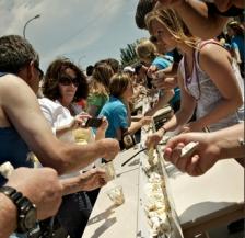 Cavalier ND longest ice cream sundae
