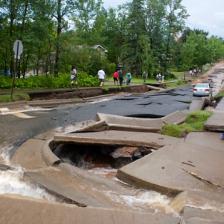 Duluth road sidewalk