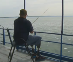 soldier fishing