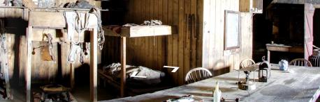 antarctic shack