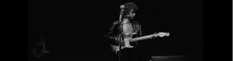 Bob Dylan goes electric