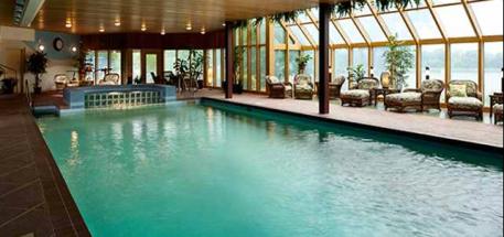 dream cabin pool