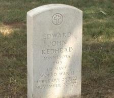 Edward Redhead stone