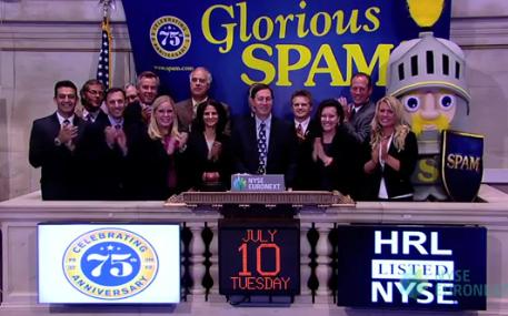 Hormel SPAM NYSE