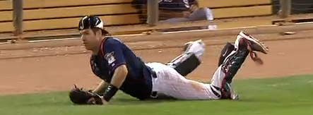 Mauer Diving Catch