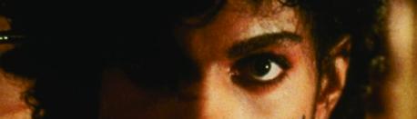 "Prince in ""Purple Rain"""