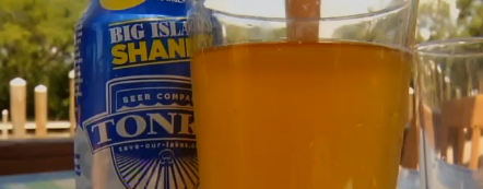 Tonka Beer Big Island Shandy