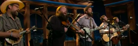 Trampled by Turtles Late Late Show