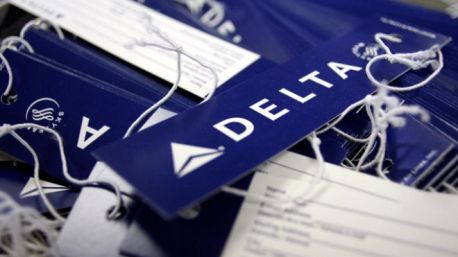 Delta baggage tags