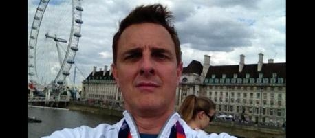Eric Perkins at Olympics