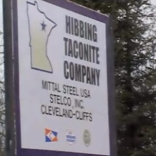Hibbing Taconite sign
