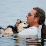 John Unger, dog