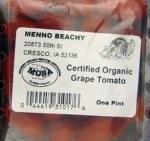 Menno Beachy tomatoes