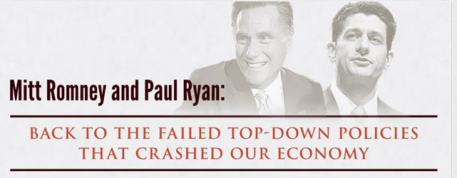 Obama ad on Romney and Ryan