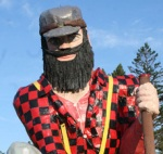 Paul Bunyan statue Akeley