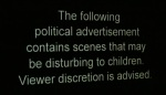 Political ad disclaimer