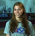 Susie Scanlon Olympic Fencer