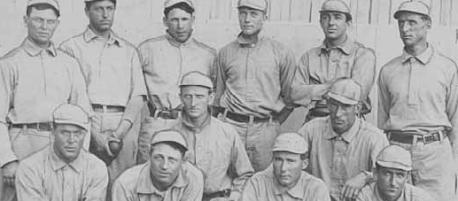 Vintage Minnesota baseball players