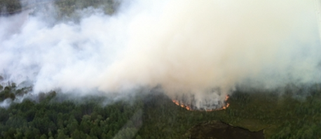 BWCA Cummings Lake fire