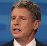 Gary Johnson Libertarian presidential candidate