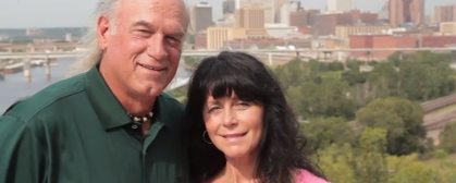Gov. Ventura and wife Terry