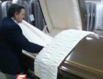 oversize casket