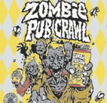 zombie pub crawl beer