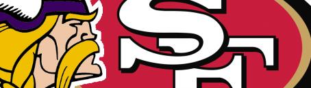 Vikings 49ers logo