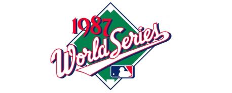 1987 World Series Logo