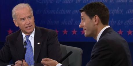 Biden Ryan debate