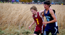 Blaine HS runner Tom Anderson. Photo by Ally Anderson