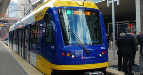 Central Corridor LRT train