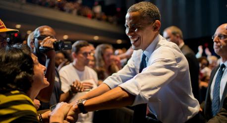 Obama in Virginia
