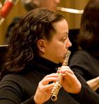 SPCO  flautist Alicia McQuerrey