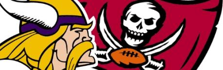 Vikings Bucs logo