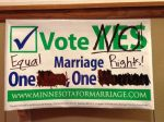 Vote Yes sign 700